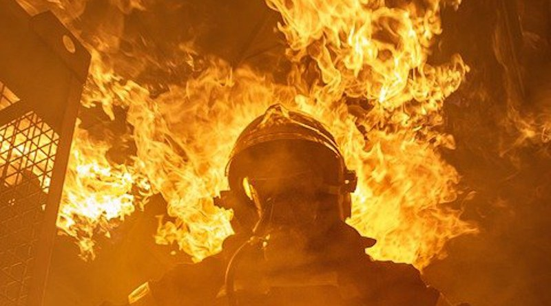 Fire Building Firefighter