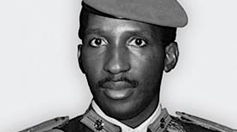 Burkina Faso's Thomas Sankara. Photo Credit: Wikipedia Commons