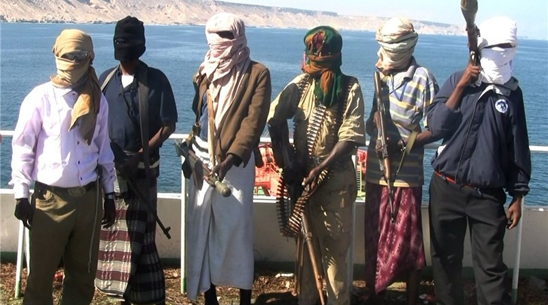 Somali-based pirates linked to extremist groups in East Africa. Photo Credit: Tasnim News Agency