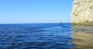 Greece Albania Ionian Sea Color Blue The Mediterranean Sea Shi