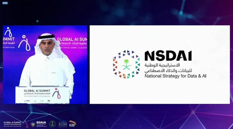 Abdullah bin Sharaf Al-Ghamdi, president of the Saudi Data and AI Authority. Photo Credit: Screenshot
