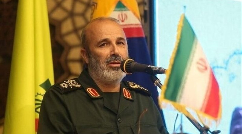 Islamic Revolution Guards Corps (IRGC) Quds Force General Mohammad Reza Fallahzadeh. Photo Credit: Tasnim News Agency