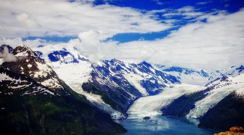 Prince William Sound Alaska Fjord Glaciers Ice