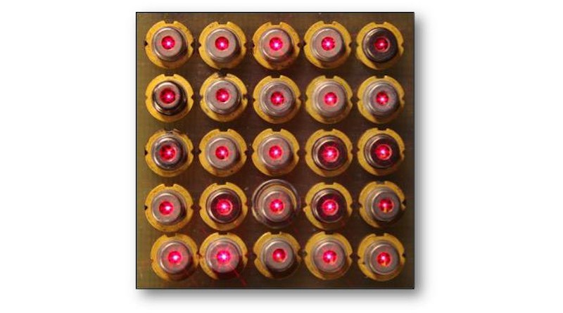 Fast, powerful compact lasers: a novel VCSEL for next-generation datacenters and sensors CREDIT: Volker Sorger/GWU
