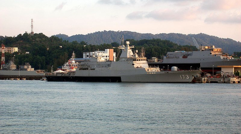File photo of Royal Malaysian Navy's KD Perak, Kedah-class offshore patrol vessel. Photo Credit: Ignacio Olivares Ortega, Wikipedia Commons