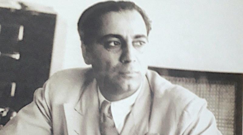 Dr Homi Jehangir Bhabha. Credit: Tata Institute of Fundamental Research