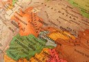 afghanistan globe map central asia