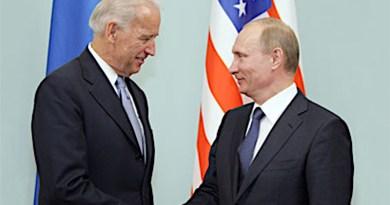 File photo of Vice President Joe Biden meeting with Russia's Prime Minister Vladimir Putin in 2011. Photo Credit: Kremlin.ru