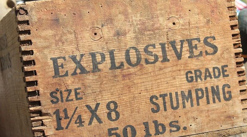 dynamite explosives