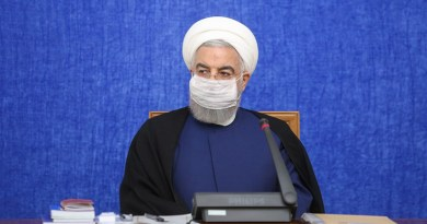 Iran's President Hassan Rouhani. Photo Credit: Tasnim News Agency