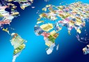 world globe map money currency currencies