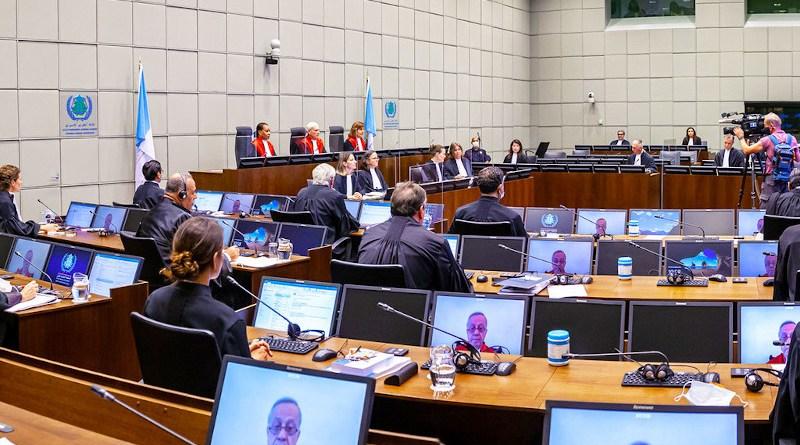 Special Tribunal for Lebanon Judgment hearing in the Ayyash et al case for the 2005 homicide of former Lebanese Prime Minister Rafik Hariri. Photo Credit: UN