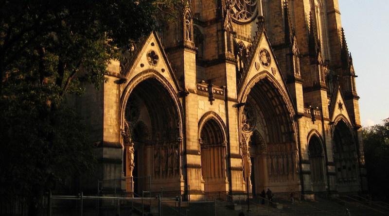 File photo of St. John the Divine Church in New York City. Photo Credit: William Porto, Wikipedia Commons