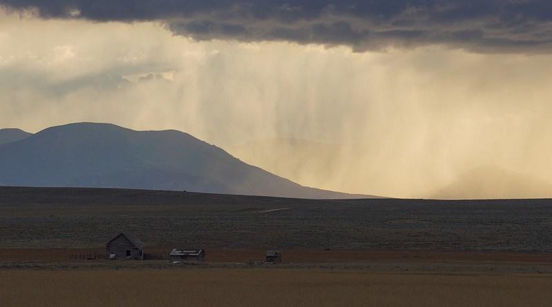 montana farm prairie storm rain weather