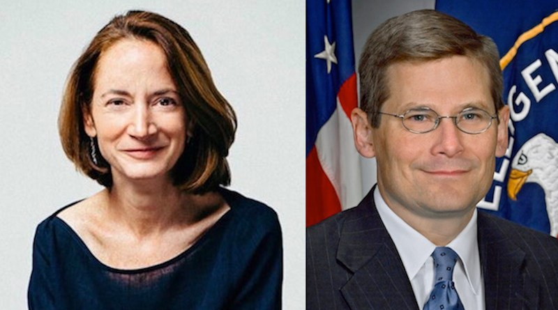 Avril Haines and Mike Morell