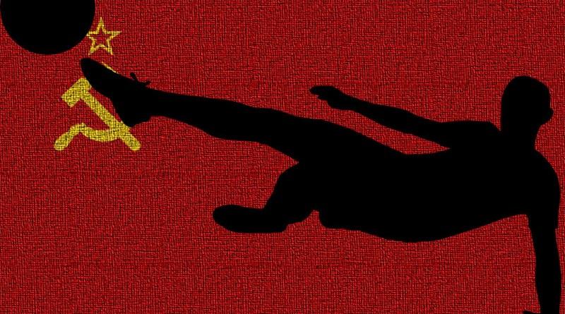 soviet union russia football soccer flag