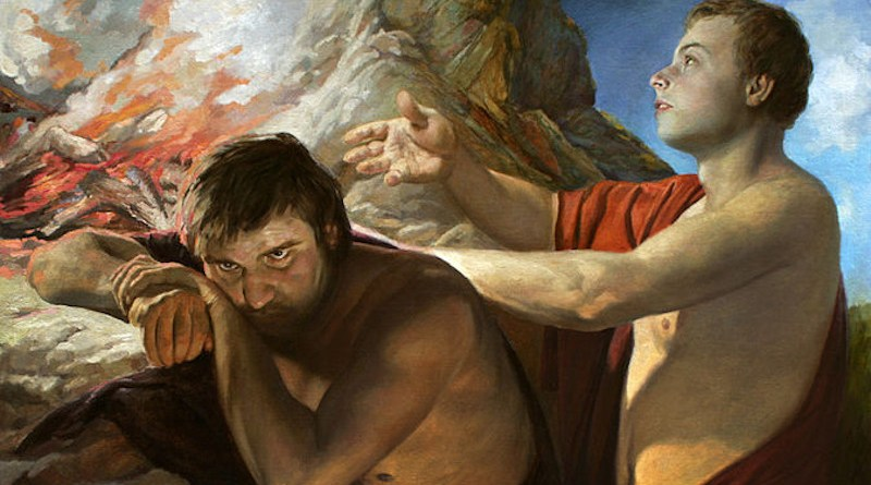 Cain and Abel by artist Andrey Mironov, Wikimedia Commons