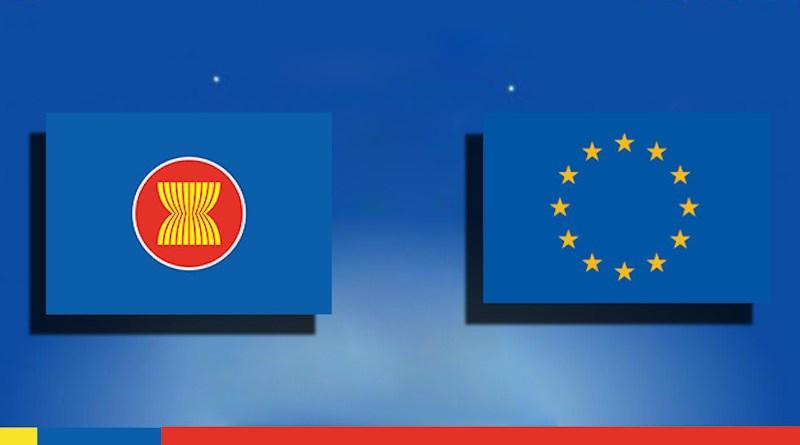 Flags ASEAN EU European Union