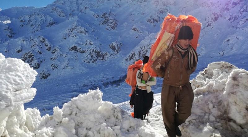 Koolbars mostly work in western provinces of Iran between Iraqi Kurdistan and Iran.