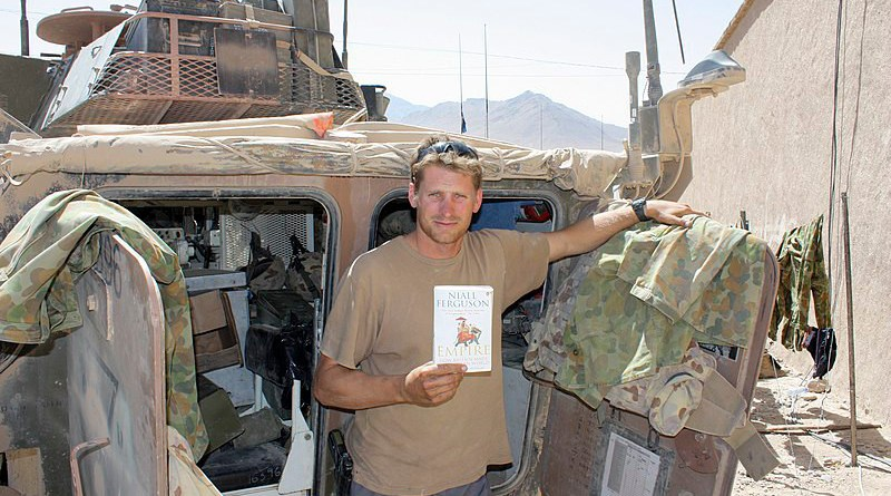 File photo of Australia's Andrew Hastie in Afghanistan. Photo Credit: Brenden Conroy, Wikipedia Commons