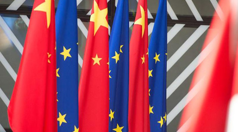 EU and China flags. Photo: © European Commission 2017 european union
