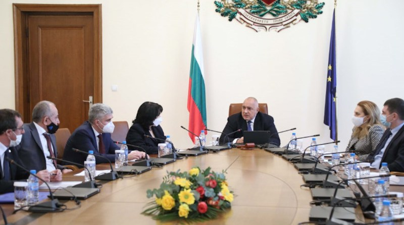 Bulgarian meeting of the cabinet on 20 January (Image: Council of Ministers)