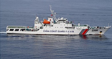 China Coast Guard. Photo Credit: Indian Navy, Wikipedia Commons