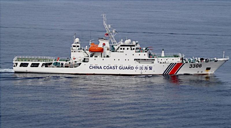 China Coast Guard. Photo Credit: Indian Navy, Wikipedia Commons