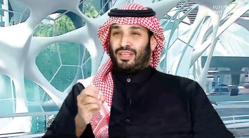 Saudi Arabia's Crown Prince Mohammed bin Salman at the Future Investment Initiative (FII). Photo Credit: FII