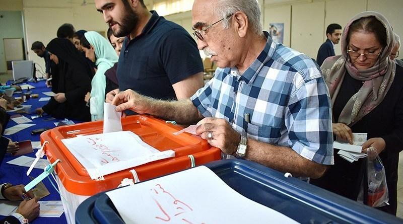 File photo of Iranians voting. Photo Credit: Tasnim News Agency