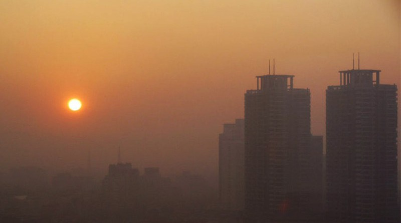 Pollution in Tehran, Iran
