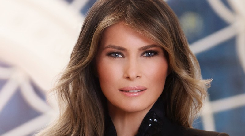 First Lady Melania Trump. Official Portrait, Whitehouse.gov
