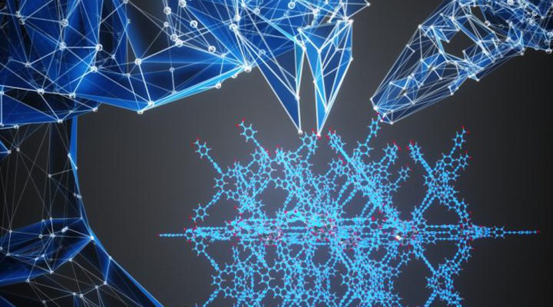 Artificial intelligence enabled autonomous design of nanoporous materials. CREDIT Courtesy of University of Toronto