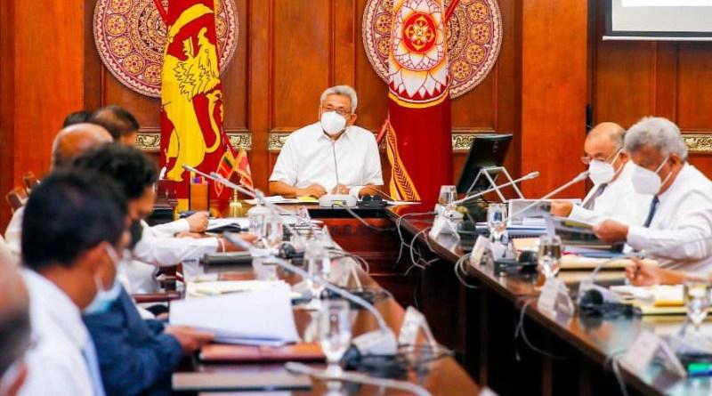 Sri Lanka's President Gotabaya Rajapaksa meets ports trade unions. Photo Credit: Sri Lanka President's Office