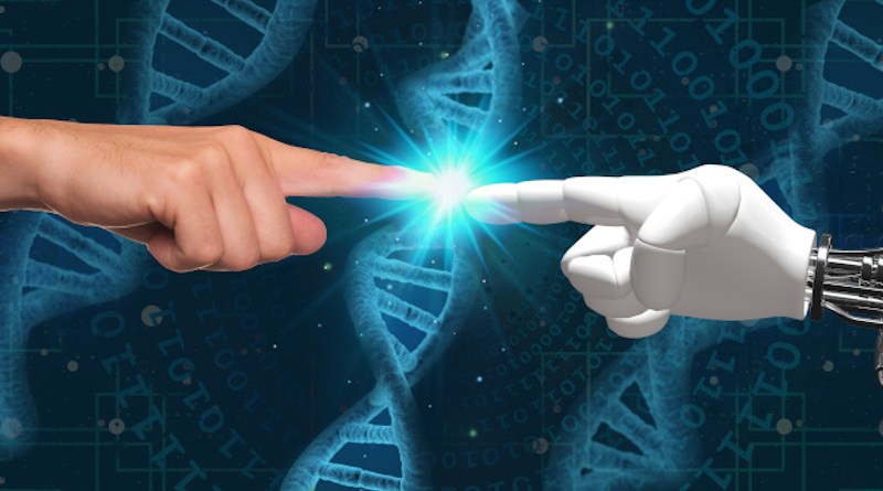 Using AI and supercomputers, researchers have discovered reoccurring patterns and combinations, known as 'motifs', of the four molecular building blocks A, C, G and T, connecting them to gene expression, that is, average amounts of produced proteins. Credit: Pixabay/Chalmers