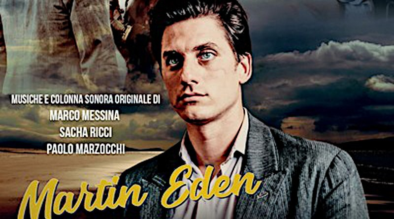 Detail of poster for Pietro Marcello's Martin Eden movie. Photo Credit: Wikipedia Commons