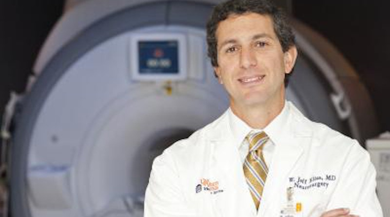 Jeff Elias, MD, is a neurosurgeon at UVA Health and a pioneer in the field of focused ultrasound. CREDIT UVA Health