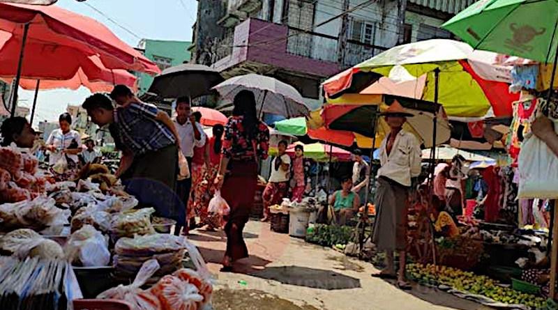 File photo of market in Arakan State, Myanmar. Photo Credit: DMG