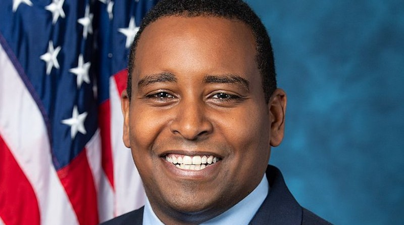 Official portrait of Joe Neguse, Democratic Party member of the 116th Congress from Colorado. Source: Wikimedia Commons.