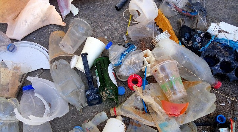Marine litter accumulating on the beaches of the Mediterranean islands CREDIT ICTA-UAB