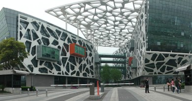 Alibaba group headquarters. Photo Credit: Thomas LOMBARD, Wikipedia Commons