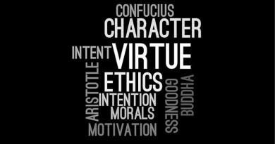 ethics values Ethics Wordcloud