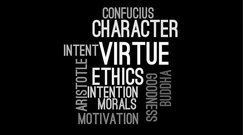 ethics values Ethics Wordcloud