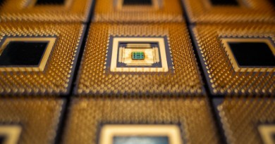 Princeton researchers have created a new chip that speeds artificial intelligence systems called neural nets while slashing power use. The chips could help bring advanced applications to remote devices such as cars and smartphones. CREDIT Hongyang Jia/Princeton University