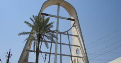 Sayedat al-najat Syriac Catholic church in Baghdad, Iraq. Source: Wikimedia Commons