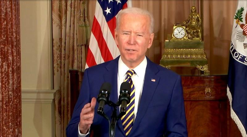 US President Joe Biden. Photo Credit: US State Department video screenshot