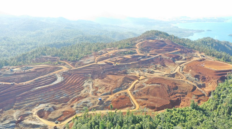 Mining for nickel in Indonesia. Photo Credit: Nickel Mines