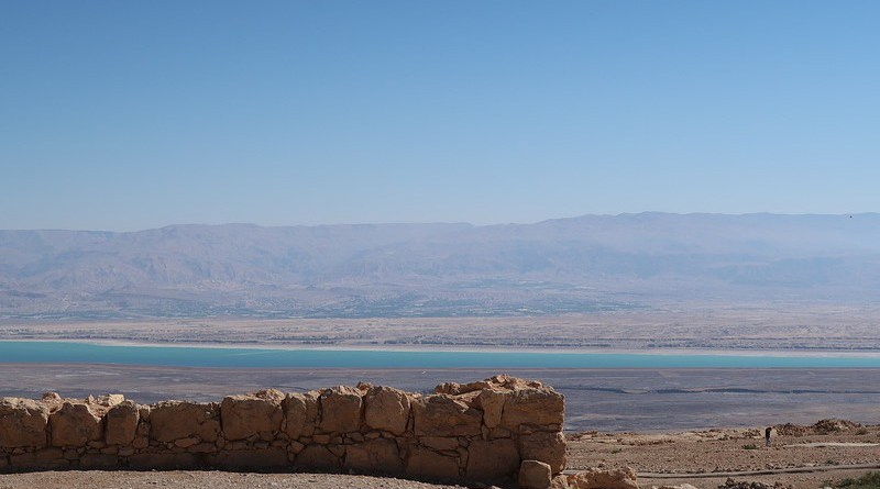 Masada Israel The Dead Sea Jordan Fort Fortress