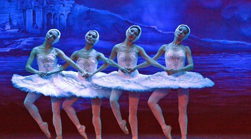File photo of a scene from the ballet, Swan Lake, being performed in Almaty, Kazakhstan. Photo Credit: Aleksey Azarov, RFE/RL
