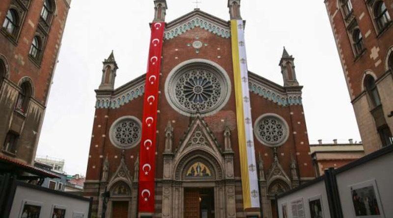 St. Anthony of Padua Church in Istanbul. / Daniel Ibanez/CNA.